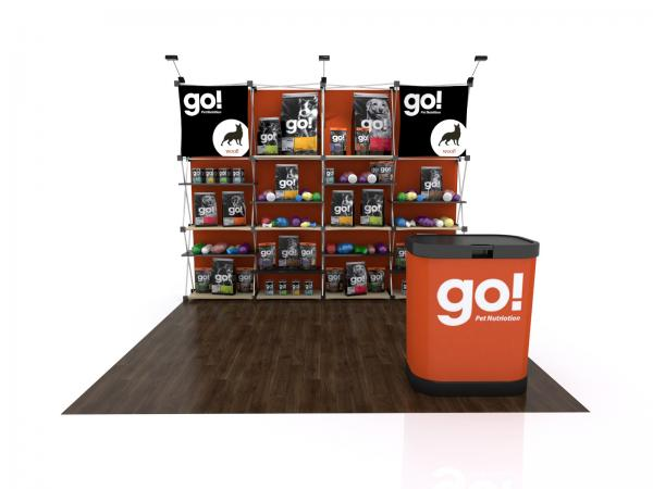 FG-125 Trade Show Pop Up Display -- Version 2a