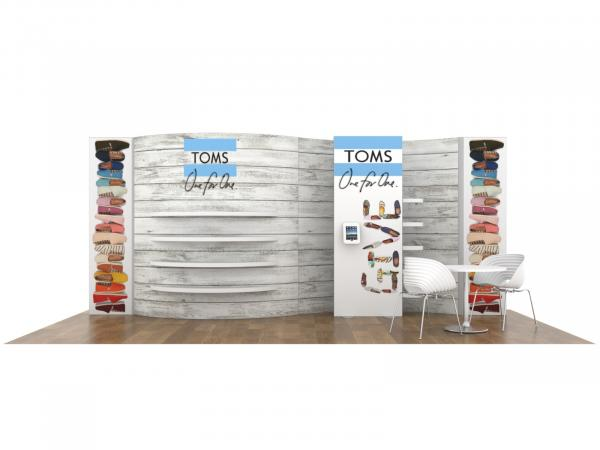 ECO-2118 Sustainable Tradeshow Inline Display -- Image 1
